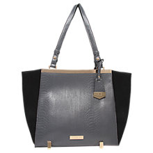 Buy Carvela Cecile Tote Bag, Black / Grey Online at johnlewis.com