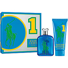 Buy Ralph Lauren Big Pony Blue Eau de Toilette Gift Set Online at johnlewis.com