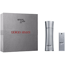 Buy Giorgio Armani Code Ice Homme Eau de Toilette Gift Set Online at johnlewis.com