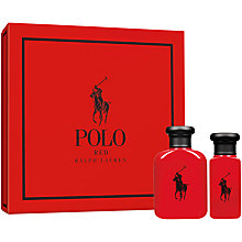 Buy Ralph Lauren Polo Red Eau de Toilette Gift Set Online at johnlewis.com