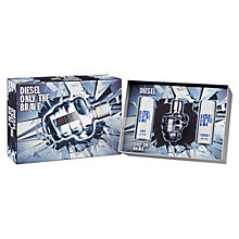 Buy Diesel Only the Brave Eau de Toilette Gift Set. 3 x 50ml Online at johnlewis.com