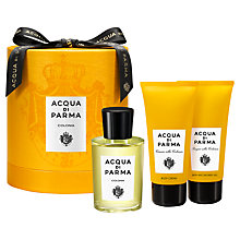 Buy Acqua di Parma Colonia Eau de Cologne Fragrance Gift Set, 100ml Online at johnlewis.com