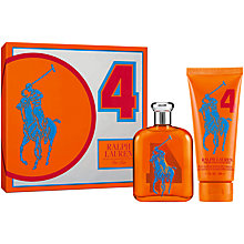 Buy Ralph Lauren Big Pony Orange Eau de Toilette Gift Set Online at johnlewis.com