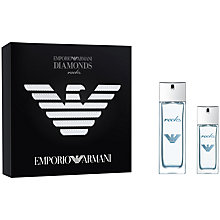 Buy Emporio Armani Diamonds Rocks For Men Eau de Toilette Gift Set Online at johnlewis.com