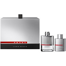 Buy Prada Luna Rossa Gift Set, 2 x 100ml Online at johnlewis.com