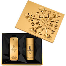 Buy Paco Rabanne 1 Million Eau de Toilette Fragrance & Deodrant Gift Set, 100ml Online at johnlewis.com