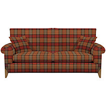 Buy Duresta Cavendish Large Sofa, 2 Scatter Cushions, Ambleside Brick Online at johnlewis.com