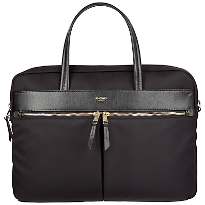 "Image of Knomo Hanover Slim Briefcase for 14"" Laptops"
