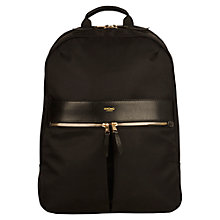 "Buy Knomo Beauchamp Backpack for 14"" Laptops, Black Online at johnlewis.com"