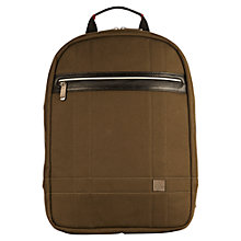 "Buy Knomo Fargo Backpack for Laptops up to 14"" Online at johnlewis.com"