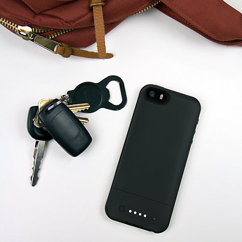 Buy Mophie Juice Pack Air Case with Rechargeable Battery for iPhone SE/5s/5 Online at johnlewis.com