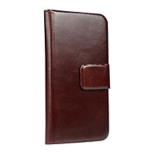 Buy Sena Magia Wallet for iPhone 5 & 5s, Brown Online at johnlewis.com