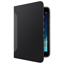 Buy Belkin FreeHand Cover for iPad mini 1, 2 & 3, Black Online at johnlewis.com