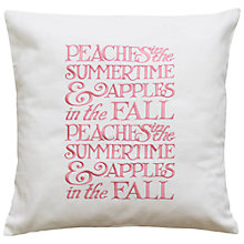 Buy Emma Bridgewater Peaches Cushion Online at johnlewis.com
