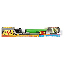 Buy Star Wars Yoda Electronic Light Saber, Assorted Online at johnlewis.com