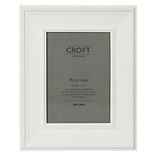 "Buy Croft Photo Frame, White, 5 x 7"" (13 x 18cm) Online at johnlewis.com"