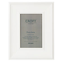 "Buy Croft Photo Frame, White, 4 x 6"" (10 x 15cm) Online at johnlewis.com"