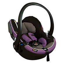 Buy BeSafe Izi Go Car Seat, Purple Online at johnlewis.com