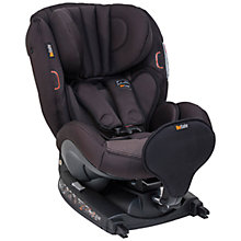 Buy BeSafe Izi Combi Isofix Car Seat with Luxurious Interior, Black Online at johnlewis.com