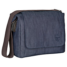 Buy Laessig Small Messenger Bag, Denim Blue Online at johnlewis.com