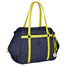 Buy Laessig D2C Gl Urban Changing Bag, Denim Blue Online at johnlewis.com