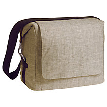 Buy Laessig Small Messenger Bag, Brown Online at johnlewis.com