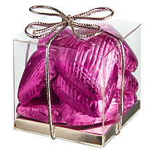 Buy Ambassadors of London Hot Pink Chocolate Hearts, 50g Online at johnlewis.com