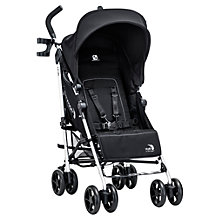 Buy Baby Jogger Vue Pushchair, Black Online at johnlewis.com