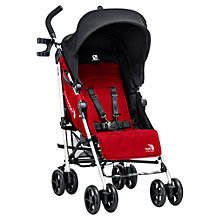 Buy Baby Jogger Vue Pushchair, Red Online at johnlewis.com
