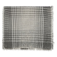 Buy Warehouse Lightweight Woven Scarf, Light Grey Online at johnlewis.com