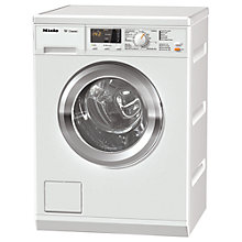Buy Miele WDA100 Freestanding Washing Machine, 7kg Load, A++ Energy Rating, 1400rpm Spin, White Online at johnlewis.com