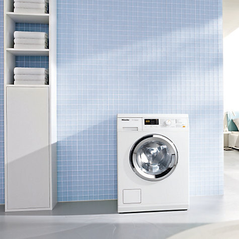 Buy Miele WDA100 Washing Machine, 7kg Load, A++ Energy Rating, 1400rpm Spin, White Online at johnlewis.com