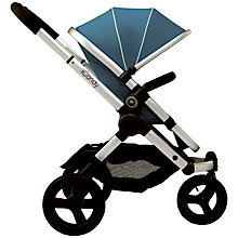 Buy iCandy Peach Jogger with Silver Chassis & Gumdrop Hood Online at johnlewis.com