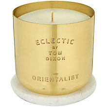 Buy Tom Dixon Orientalist Scented Candle Online at johnlewis.com