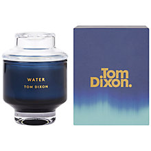 Buy Tom Dixon Water Scented Candle, Medium Online at johnlewis.com
