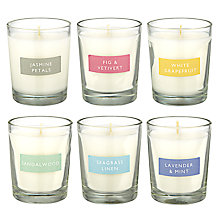 Buy John Lewis Votive Candle Collection, Set of 6 Online at johnlewis.com