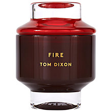 Buy Tom Dixon Fire Scented Candle, Large Online at johnlewis.com