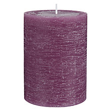 Buy John Lewis Fig & Vetiver Pillar Candle Online at johnlewis.com