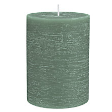 Buy John Lewis Sandalwood Pillar Candle Online at johnlewis.com