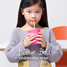Buy Debbie Bliss Cashmerino Aran Children's Knitting Book Online at johnlewis.com