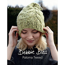 Buy Debbie Bliss Paloma Tweed Knitting Pattern Online at johnlewis.com