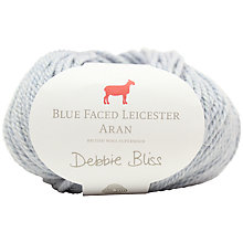 Buy Debbie Bliss Blue Faced Leicester Aran Yarn, 50g Online at johnlewis.com