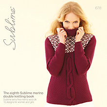 Buy Sirdar Sublime Women's Knitting Pattern, 678 Online at johnlewis.com