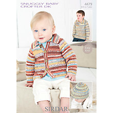 Buy Sirdar Crofter DK Baby's Knitwear Knitting Patterns, 4479 Online at johnlewis.com
