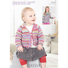 Buy Sirdar Crofter DK Children's Cardigan Knitting Patterns, 4484 Online at johnlewis.com