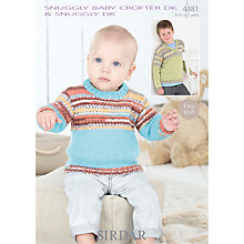 Buy Sirdar Crofter DK Children's Jumper Knitting Patterns, 4481 Online at johnlewis.com