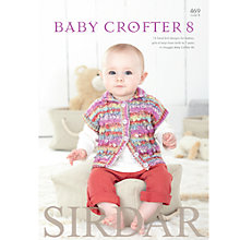 Buy Sirdar Baby Crofter 8 Babywear Knitting Patterns, 469 Online at johnlewis.com