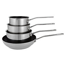 Buy House by John Lewis Pan Set, 4 Pieces Online at johnlewis.com