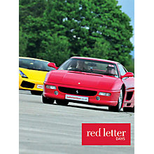 Buy Red Letter Days Lamborghini Versus Ferrari Driving Thrill Online at johnlewis.com