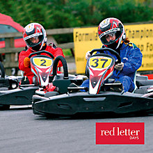 Buy Red Letter Days Extended Outdoor Karting Online at johnlewis.com